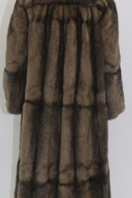 Fur - fur coat mink Kohinoor brown