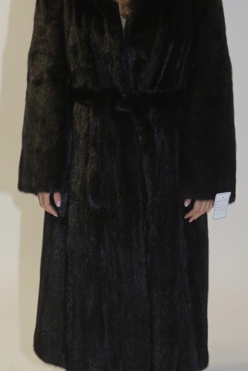 Mink fur-fur coat