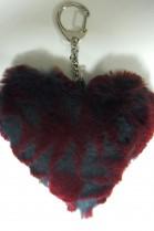 Fur Heart Keychain Kanin