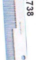 Taschenkamm Stahl Original ROMI Werkzeug Kürschner Zubehör