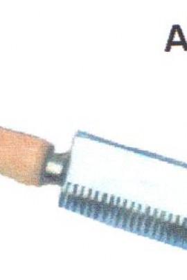 Abzweck Kamm Einseitig aus Stahl mit Holzgriff Original ROMI