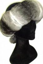 Chinchilla Fur Headband band fur headband - Nature