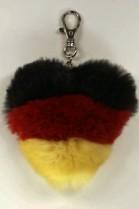 Fellanhänger Deutschland Flagge