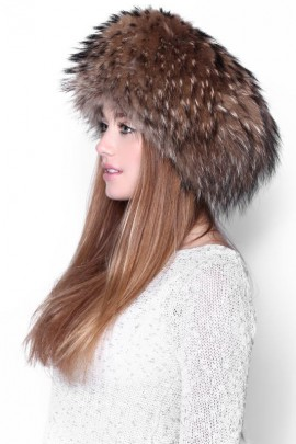 Fur Hat Fur Cap Finraccoon-