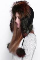 Fur Hat Fur Cap Tschapka