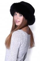 Fur Hat Black Fur Hat Blue Fox