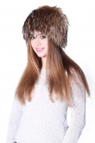 A beautiful fur hat from Finnraccoon