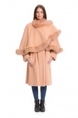 Landscape edging - We refine your fabric cape with real fur