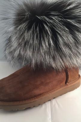 Fell Stulpen an Fell Boots Schuhe Anbring Service