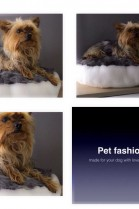 LUXURY Real Fur Dog Bed Pillow Faux Fur & Goat