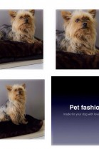 LUXURY Real Fur Dog Bed Pillow Faux Fur