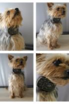 LUXURY real fur Grown lamb scarf / collar