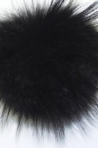 Finraccoon fur Bommel- Black (B-WARE!)