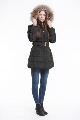 Fur Hood custom made fur collar vest jacket coat parka for