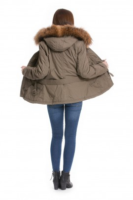 Fur Hooded pullover collar fur fur strip strips to fit