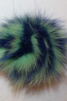 Shadow fox Bommel combined blue / green