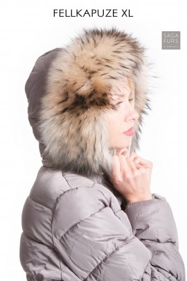Hooded fur collar attaching Service Premium hood XXL
