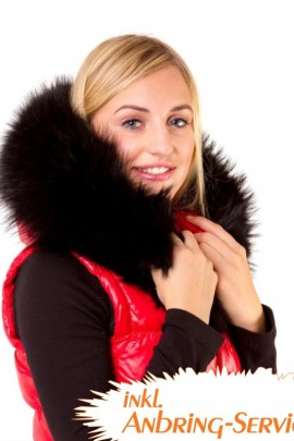 Blacknight XXL hooded collar fur hood attaching Service