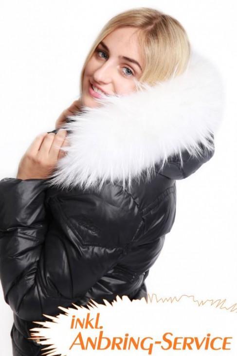 Premium White Snow Size: XL Kapuze inkl. Anbring Service