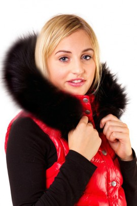 Blacknight Size: XL made to measure hood fur black fur lining