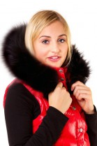 Blacknight Size: XL made to measure hood fur black fur lining