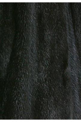 Fell Innenfutter aus recyceltem Nerz schwarz