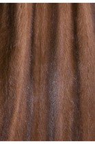 Recycled mink fur lining light brown attaching Service