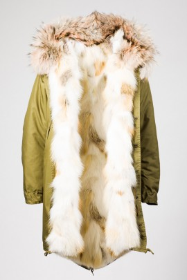 Urban Winter Parka Golden Island Fuchs mit Fellkapuze Salis