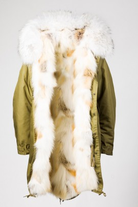 Winter Parka Golden Island Fuchs mit Kapuze Snow White