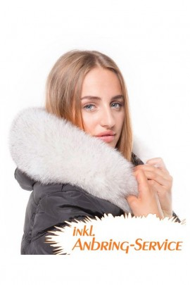 Fur Hood Exquisit XL Nature attaching Service Special