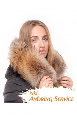 Dream Fur Hoodie XXL Fur Hood Exquisit attaching Service