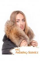 Dream Fur Hoodie XXL Fur Hood Exquisit attaching Service