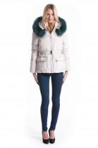 Fur Hood GIGANT XXXL Fashion Petrol incl. Attaching Service