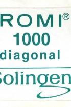 Diagonal Spezial Leder Klingen 0,40 mm ROMI Solingen