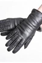 Christ Lammfell Original Handschuhe schwarz Modell Jenna