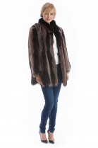 Raccoon Jacket natural brown Raccoon Fur Fashion Fur