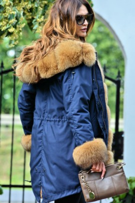 Azure Parka with an exceptional fox fur