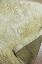 Pelz Fell Lagerware Kanin beige