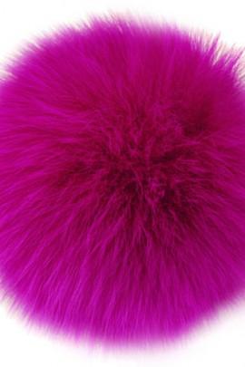 Bommel Fur Pink