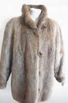 Fur Jacket Nutria fur jacket