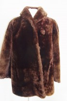 Fur Jacket Lamb brown