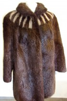 Fur fur jacket Nutria Fur jacket