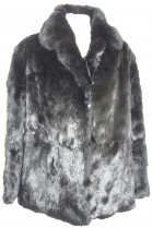 Fur fur jacket Kanin fur jacket