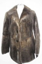 Fur fur fur jacket Nutria brown