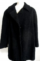 Fur fur fur jacket Persian black