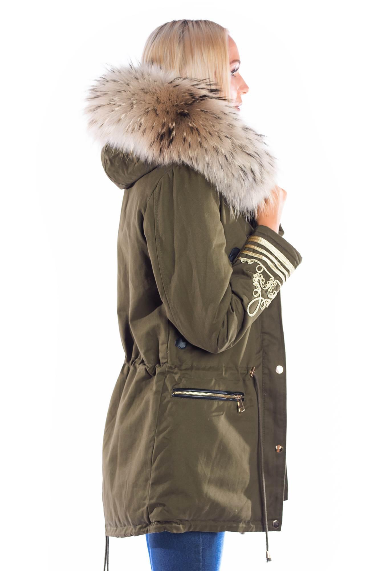 parka mit fell xxl fashion wiedererkennungswert kaufen im dein pelz online shop. Black Bedroom Furniture Sets. Home Design Ideas
