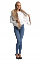 Fox Fur Vest Real Fur Fashion Luxury Fur Fashion