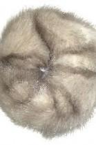 Nerz Pelz Fell Haargummi Pelzband Haarband - Hell Grau