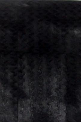 Pelz Fell Tafel Reststück Kanin schwarz