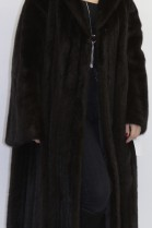 Fur - fur coat mink brown omitted